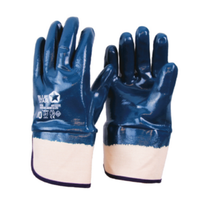 BlueStar Hercules heldoppade handskar med mudd