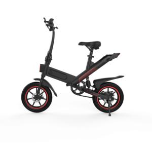 Combardu Elektrisk Elscooter Cykel Sort