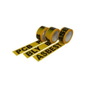 Plasfo Advarselstape med tekst